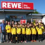 D-Jugend der JSG Grafschaft grüßt in Schwarz-Gelb