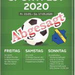 Sportfest abgesagt